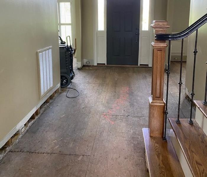 Dry Floors after water is gone